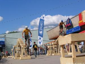 На площади Юности пройдут соревнования по велотриалу