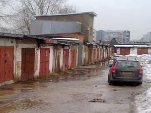 В Андреевке затопило гаражи