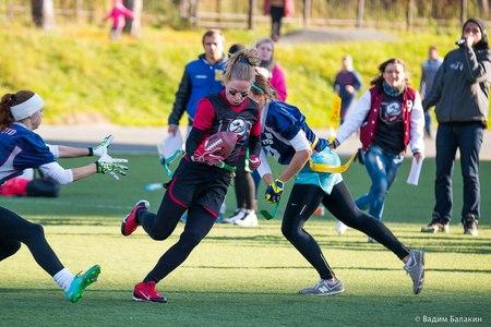 15–16 октября в Зеленограде пройдет финал Кубка России по женскому флаг-футболу