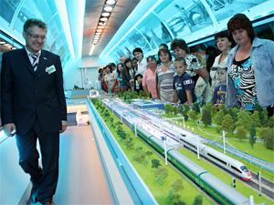 Вход в выставочный поезд РЖД будет платным