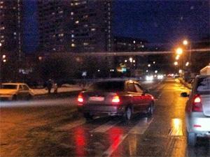 На Филаретовской улице автомобиль сбил пенсионера на «зебре»