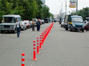 Тротуар на Центральном проспекте перекроют «крабами»
