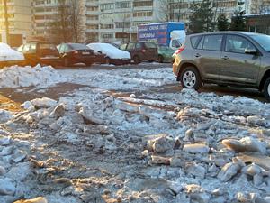 Парковка с препятствиями