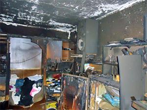 Пострадавший на пожаре в 3-м микрорайоне скончался