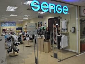 В ТЦ «Ольга» открылся фирменный магазин SERGE