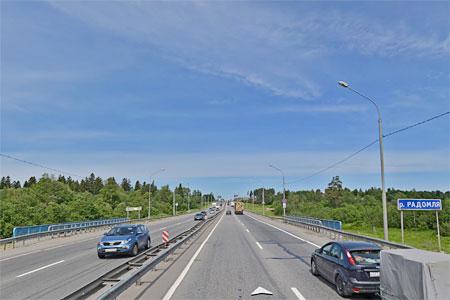 На 47-м км Ленинградки заменят автомобильный мост