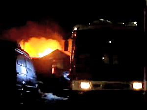 В Брехово сгорел частный дом