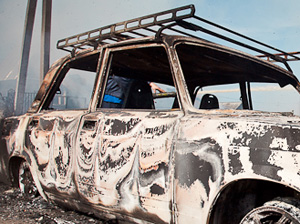 За полсуток в Зеленограде сгорели три машины