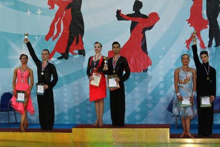 Воспитанники зеленоградского клуба «Данс-Мастер» стали победителями первенства Москвы по бальным танцам