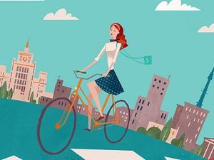 В понедельник зеленоградцам предлагают приехать на работу на велосипеде