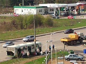 Дачный автобус №403 сломался в первый день работы