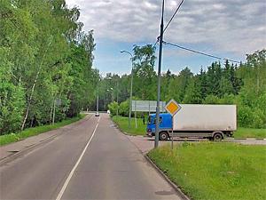 У завода «Квант» столкнулись две иномарки