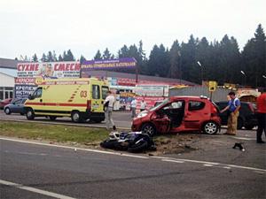 За один вечер в Зеленограде пострадали два мотоциклиста