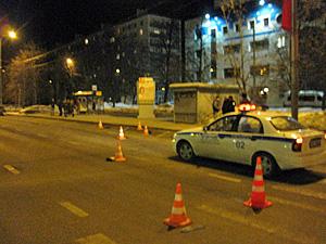 На Центральном проспекте сбили пешехода