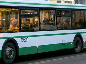 Женщину госпитализировали после падения в салоне автобуса
