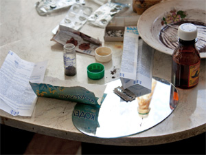 Задержанная в такси наркоманка содержала наркопритон
