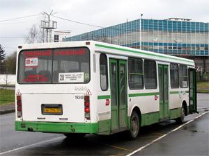 28-й автобус перестанет ходить в «старый город»