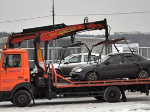 Неправильно припаркованные автомобили будут увозить в Москву