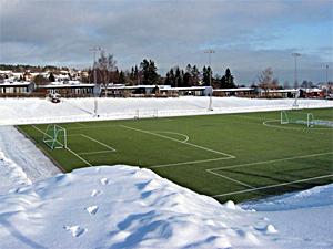 Футбольное поле с обогревом в 9-м районе начнут строить в декабре