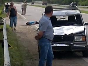 ГИБДД ищет свидетелей смертельного наезда на трех пешеходов на Георгиевском шоссе