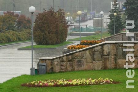 В парке Победы отремонтируют фонари