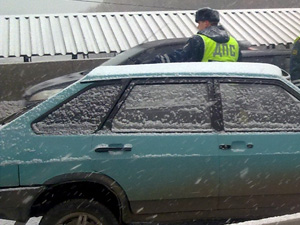 Приезжий угнал автомобиль у своего должника