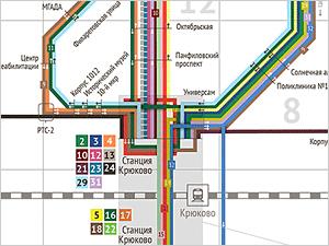 Началось голосование за новую схему автобусных маршрутов Зеленограда
