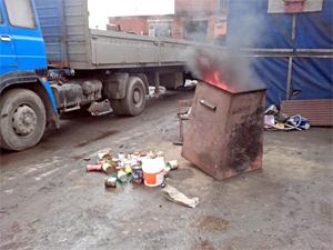 Зеленоградец раскрыл подпольный мусоросжигательный «завод»