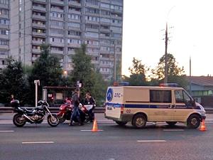 В ДТП у «Кафе Лесное» пострадал мотоциклист
