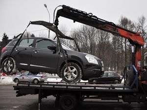 Мешающие уборке снега машины будут переставлять