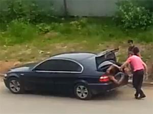 Похищение в багажнике