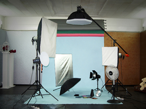 25 сентября открылась профессиональная фотостудия