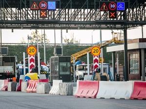 Пропускные пункты на Новой Ленинградке пока открыты для свободного проезда