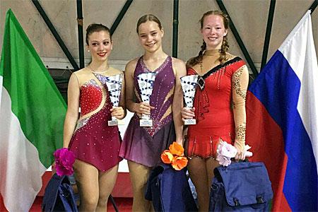 17-летняя зеленоградка стала чемпионкой мира по фигурному катанию на роликах