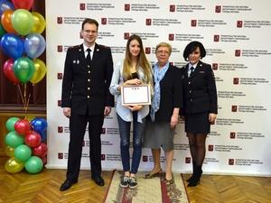 Зеленоградская школьница стала победителем Московского городского конкурса детских рисунков по безопасности дорожного движения  «Мы рисуем улицу»
