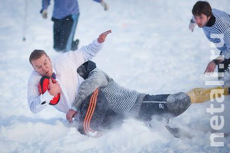 Игры в снежное регби пройдут в Зеленограде 21 февраля при любой погоде