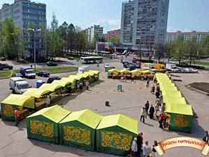 3 апреля возобновится работа ярмарок выходного дня