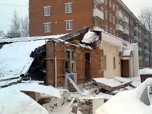 Названа причина обрушения здания на улице Крупской