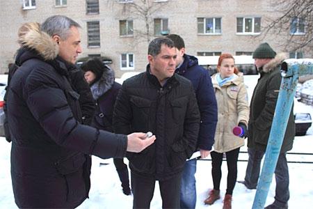 Зампред правительства Подмосковья резко раскритиковал благоустройство поселка Менделеево