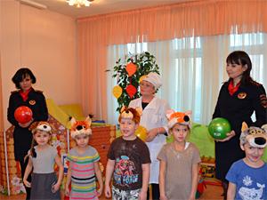 Автоинспекторы Зеленограда отметили Всемирный день ребенка
