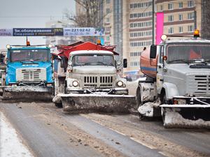 Из-за снегопада резко возросло число мелких ДТП