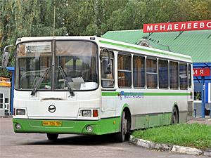 Автобусы из Менделеево до «Водного стадиона» начнут заезжать в Зеленоград