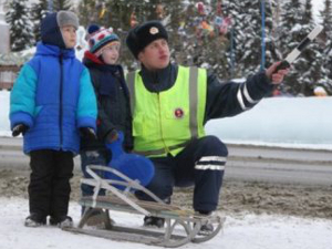 ГИБДД проводит профилактический рейд «Зимние каникулы»