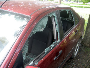 В 3-м микрорайоне поймали автомобильных воров