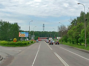 Выезжать из Зеленограда у «Штыков» можно будет с трех полос