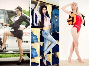 Топ-модель по-зеленоградски: автомобили, джинсы, пляж