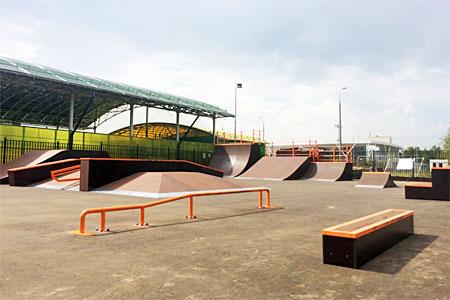 Скейт-парк на Сосновой аллее торжественно откроют в четверг