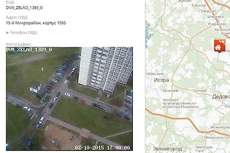 Власти обнародовали адреса камер видеонаблюдения в общественных местах Зеленограда