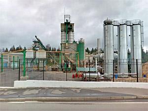 Асфальтобетонный завод уличили в превышении норм выбросов