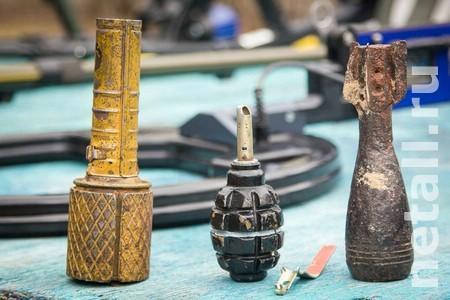 На даче под Зеленоградом обнаружили склад боеприпасов времен войны
